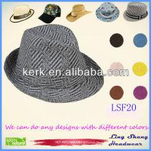 LSF20 verwendet für Partei Günstige Mode Fabric Fedora Winter Eimer Hut