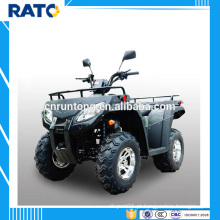 Cota rentável RATO 250cc ATV preto com 4 quadros quadrados