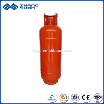 Gasolinera portátil del cilindro del LPG de la alta seguridad 25KG con la válvula