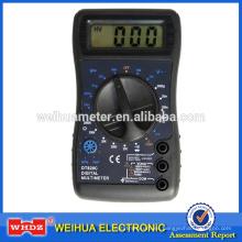 Multímetro digital portátil DT820C con zumbador de temperatura
