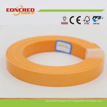 Precio competitivo bandas de borde de PVC