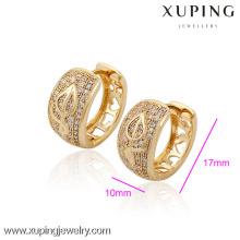 (29948) Xuping Fashion Charms généreux or boucles d'oreilles avec de haute qualité