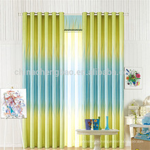 Zwei Farben Bürovorhänge und Jalousien mit Mustern