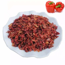 New Crop Dehydrated Vegetable Red Bell Pepper Flakes  for cooking