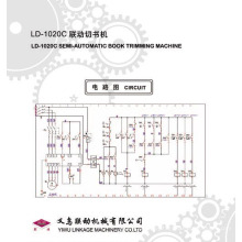 (liandong) Semi-Automatic Book Trimming Machine (LD-1020C)