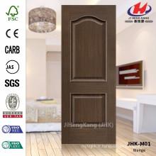 JHK-M01 Nouvelle vente de design chaud en Arabie Saoudite et Moyen-Orient de la peau de porte de placage de châtaigne