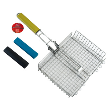 vouwhendel voor barbecue Grill-mand