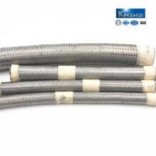 hochwertige flexible edelstahlgeflecht PTFE material rohr / schlauch
