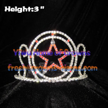 3inch Star Crystal Crowns For Princess