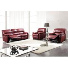 Sofá elétrico reclinável EUA L & P sofá do mecanismo para baixo do sofá (396 #)