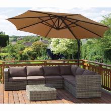 Wicker Lounge Sofa Set Garden Outdoor Rattan Patio Furniture