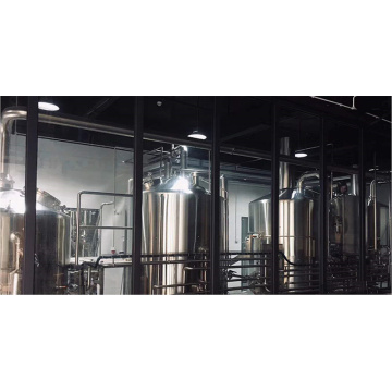Bierausrüstung mit Brauerei-Hygieneverarbeitungssystem