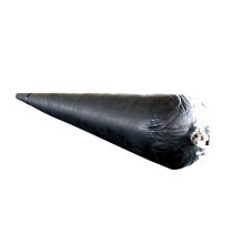 boat underwater transporting ship  salvage pontoon rubber airbag
