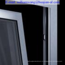 Индивидуальные распашные распашные алюминиевые двери, компания Шаньдун