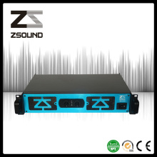 Zsound Md 2000W PRO Audio Monitor Stage Loudspeaker Power Amplifier
