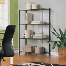 DIY 4 capas de metal Oficina Wire Rack de almacenamiento de archivos con alta calidad