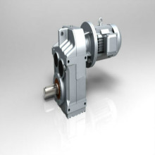 Poros Berongga Gearbox Motor Parallel Shaft Helical Gearbox