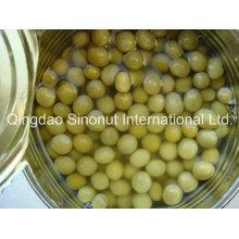 340g / 200g de ervilhas verdes em conserva (tampa normal ou tampa aberta fácil)