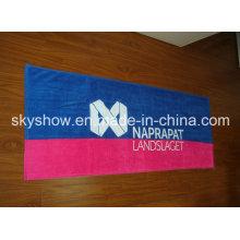 Полноразмерное пляжное полотенце с печатью (SST0343)