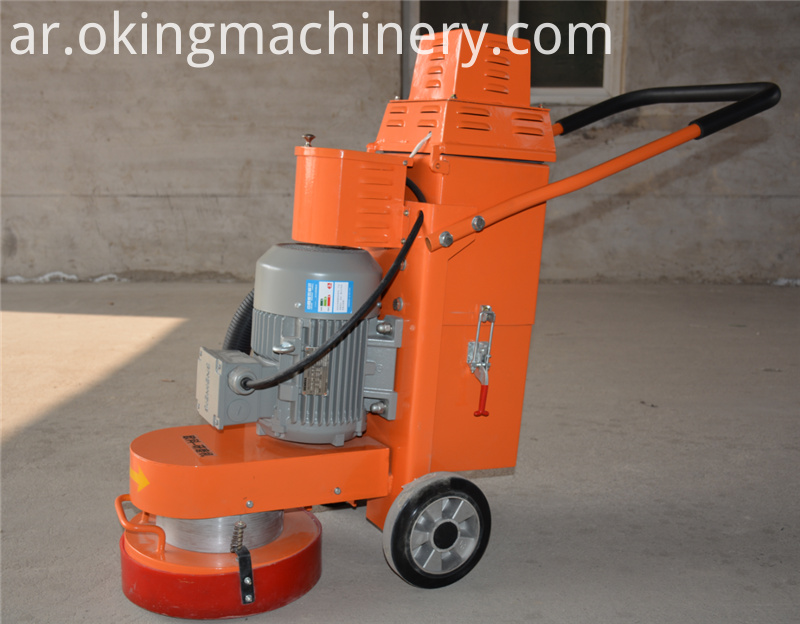 220v Electric Concrete Epoxy Floor Grinder Polisher