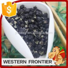 Sonnengetrocknetes Trocknungsverfahren neue Ernte schwarz goji Beere