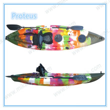 Plastic One Person Single Sit on Top Fishing Boat Kayak