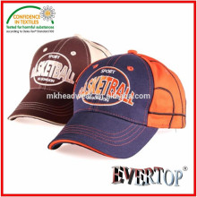 100% cotton twill fabric children baseball cap with embroidery logo, cute baseball cap for children