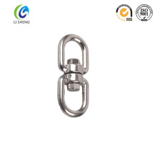 Regular chain swivel with double eyes