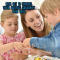 Partido Suprimentos Jogo Adesivos Removíveis Diy Adesivos Criativos Para Crianças
