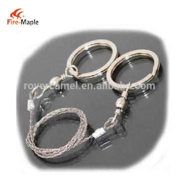 Scie à feu érable véritable FMC - 25p sauvetage survie câble corde sciage scies frette rotation de 360 degrés que sauvetage vu