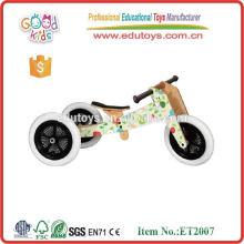 Bicicleta de entrenamiento de balance de madera