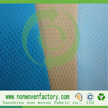 Китай Spunbond Nonwoven Cambrella Fabric Cross Fabric