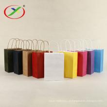 sacos de papel kraft branco de qualidade alimentar