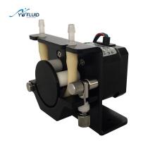 Micro peristaltic pump using stepper motor