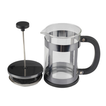 Silver Frame French Press