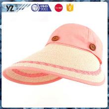 Fabrik-Versorgung OEM-Qualität Flachvisier Kappe mit maßgeschneiderten Logo 2016