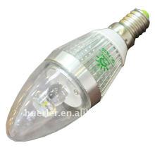 Luminaires LED 4W allumés e27