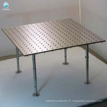 tête de mélangeurs de douche de plafond d'acier inoxydable avec led