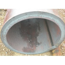 Fluid welded steel pipes