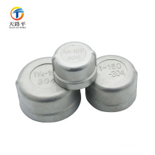 Stainless steel End Cap Material Round shape Grooved Pipe