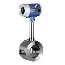 Mesureur de débit massique à gaz ou à vapeur - Voltmètre à vortex