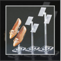 Transparente Acrylic Shoe Display Rack Venta al por mayor