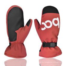 Nuevo diseño resistente al desgaste al aire libre cálido mantener guantes de esquí