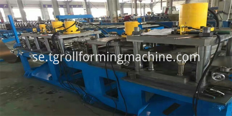 Electric Cabinet Box Roll Forming Machine