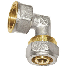 Nickel-Plating Brass Female Elbow (a. 0439)