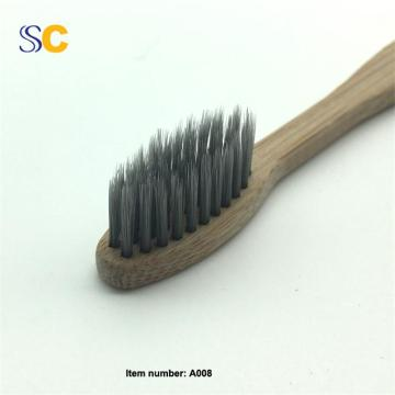 Eco Friendly Wholesale Bamboo Bristle Toothbrush