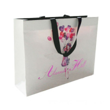 2014 China Wholesale Tote Cheap Paper Bags For Garment Biodegradable paper bag / Die cutting handle gift paper bag