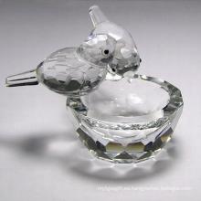 Cristal de alta calidad K9 Crystal Gifts Crystal Animal (JD-CF-008)