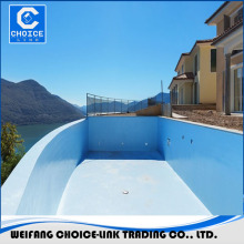 PU waterproofing coating for swimming pool