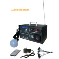 10w Portable Solar Power System with FM and LED lamp